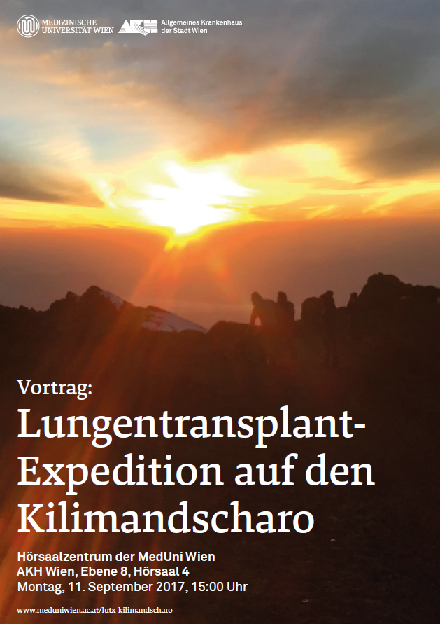 Lungentransplant- Expedition auf den Kilimandscharo