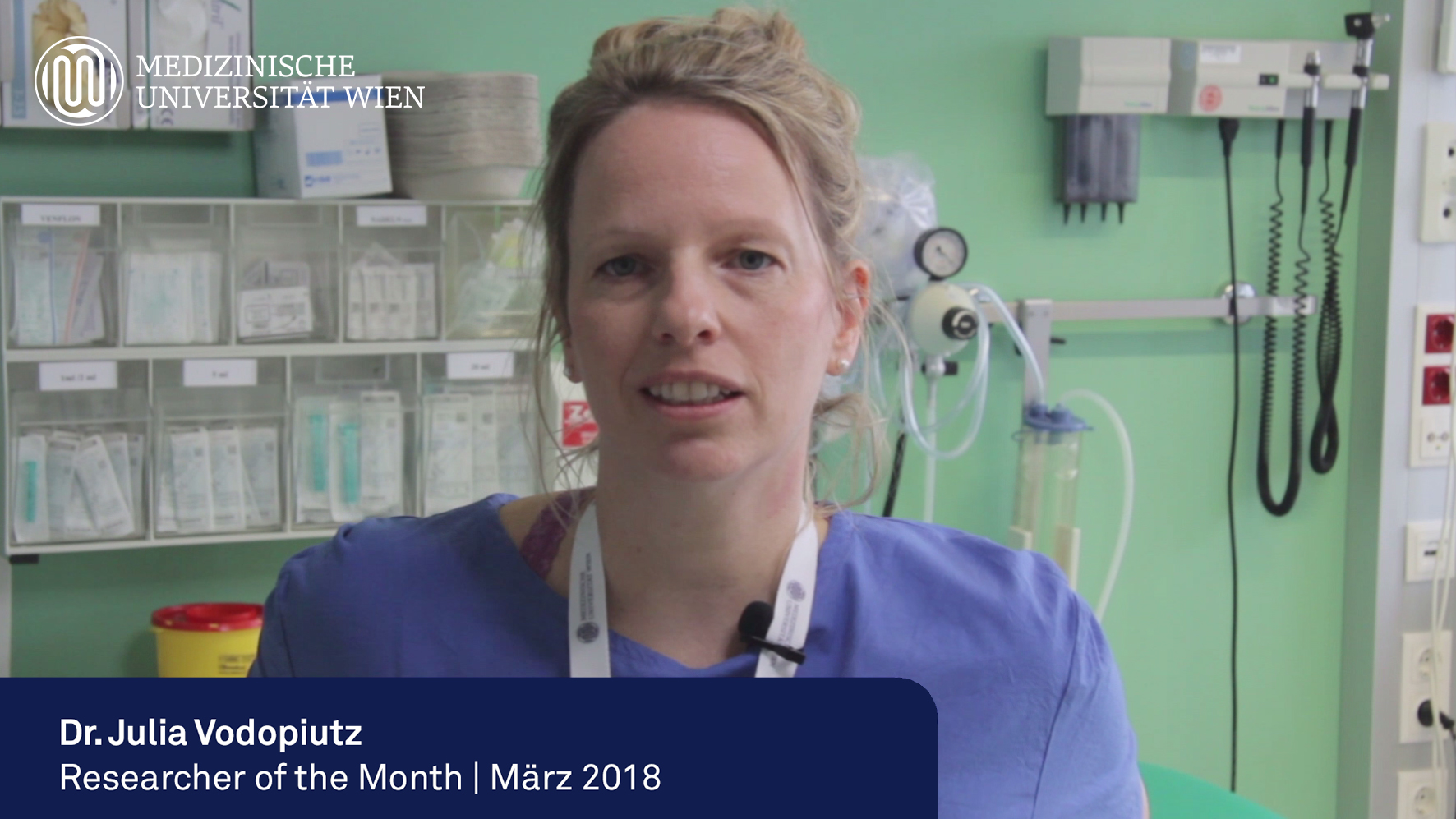 Researcher of the Month | März 2018: Dr.in Julia Vodopiutz