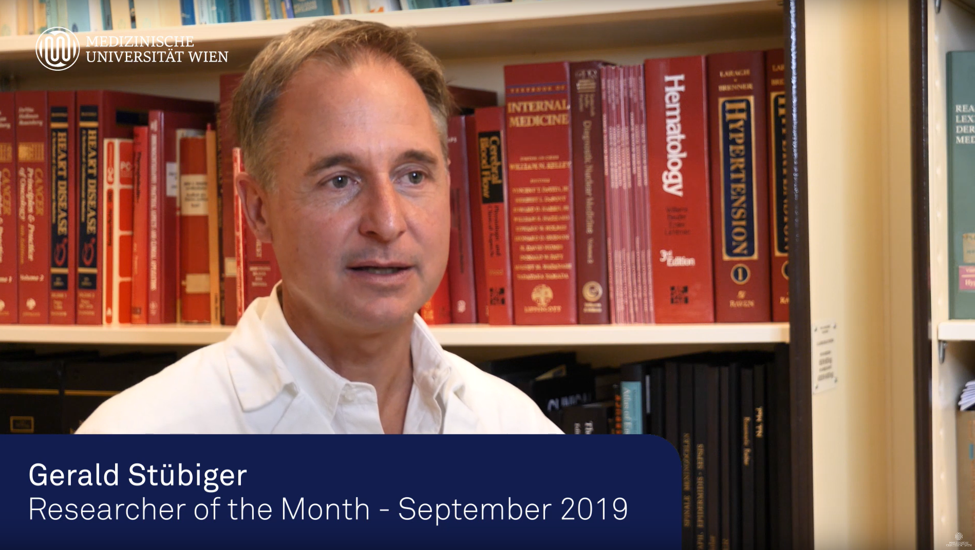 MedUni Wien - Researcher of the Month | September 2019: Dr. Stübiger